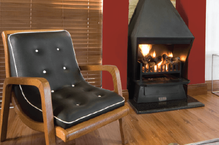 Traditional freestanding fireplaces